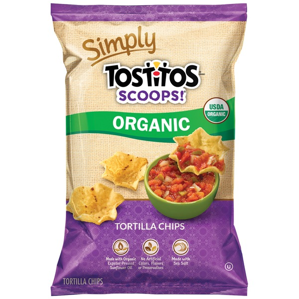 Tostitos Scoops Organic Tortilla Chips