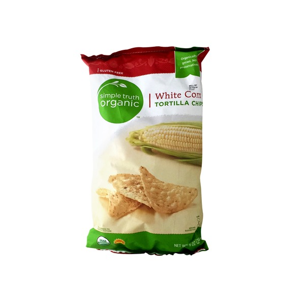 Simple Truth Organic White Corn Tortilla Chips