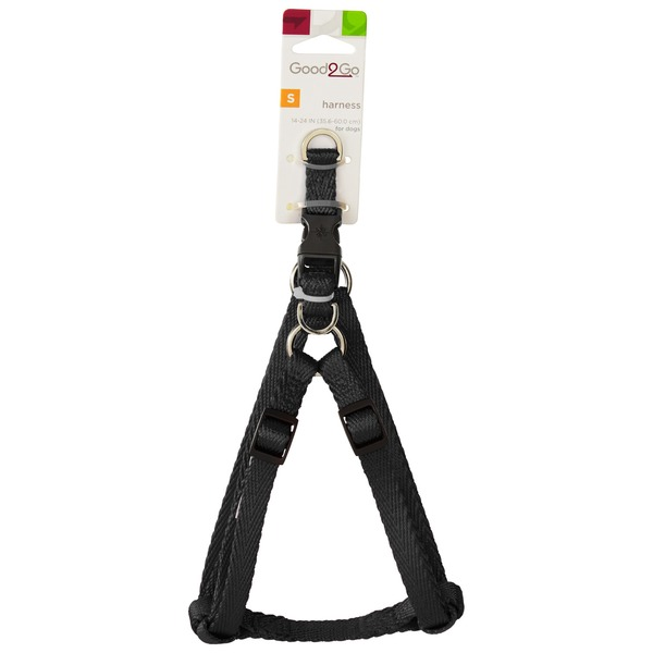 Good2 Go Small Black Harness For Dogs