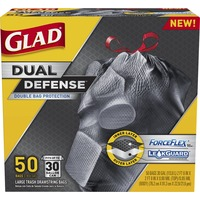 Glad Force Flex Large Trash Drawstring Bags Extra Strong