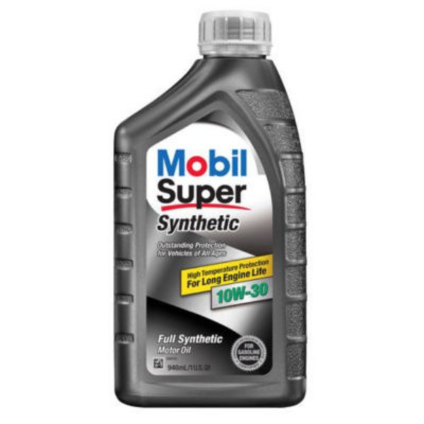 Mobil Super Synthetic 10W-30 Motor Oil