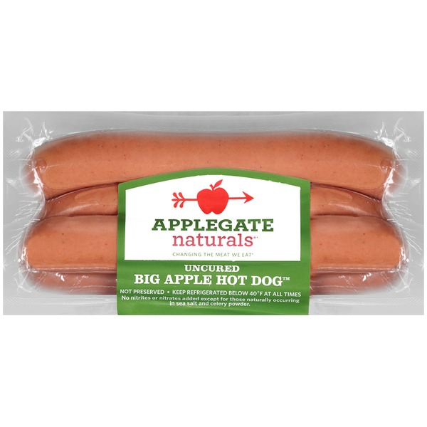 Applegate Natural Big Apple Hot Dogs