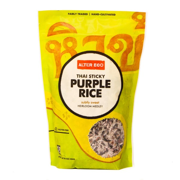 Alter Eco Gluten Free Thai Sticky Purple Rice