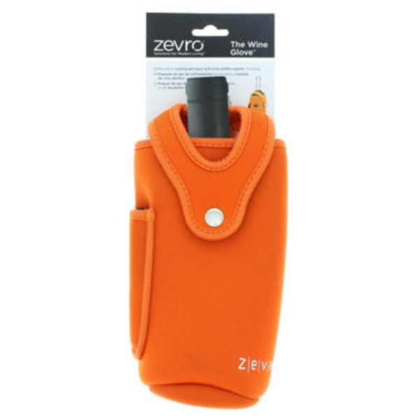 Zervo The Wine Glove Gel Pack, Orange