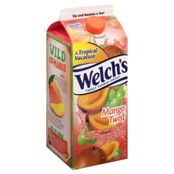 Welch's Mango Twist Flavored Fruit Juice Cocktail Blend