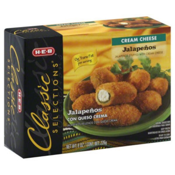 H-E-B Classic Selections Jalapeño Bites With Creme Cheese