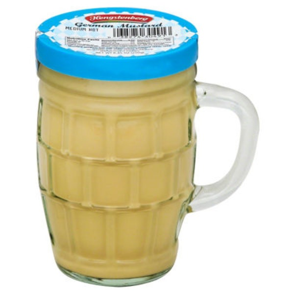 Hengstenberg German Mustard Medium Hot Stein