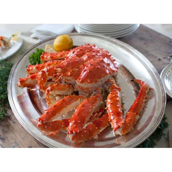 Costco Wild Whole Cooked Alaska Red King Crab Full Case