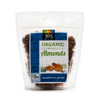 365 Organic Roasted & Salted Whole Almonds