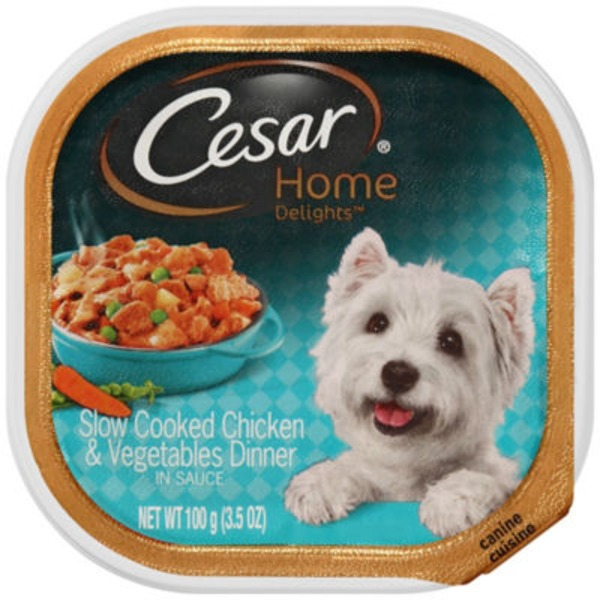 Cesar Home Delights Canine Cuisine Chicken & Vegetables Wet Dog Food