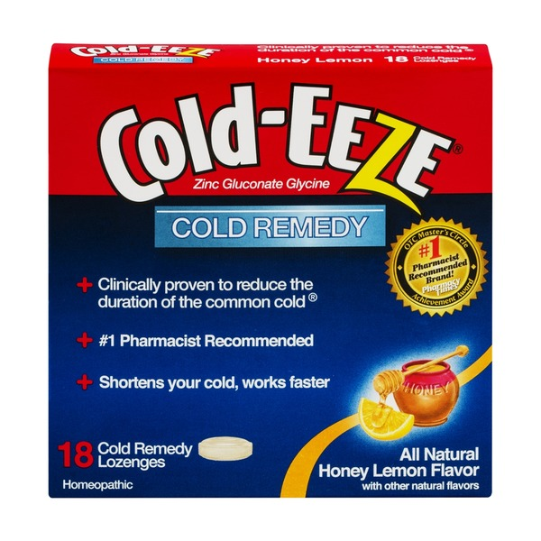 Cold-Eeze Cold Remedy Lozenges Honey Lemon