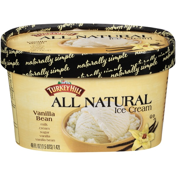 Turkey Hill All Natural Vanilla Bean Ice Cream