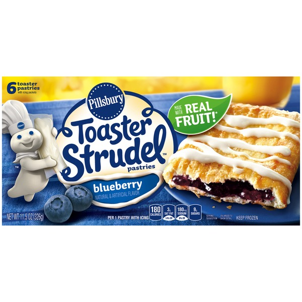 Pillsbury Toaster Strudel Blueberry Toaster Pastries