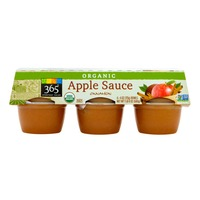 365 Organic Cinnamon Apple Sauce