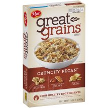 Post Great Grains Crunchy Pecan Cereal 16 oz. Box