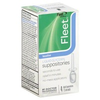 Fleet Liquid Glycerin Laxative Adult Suppositories