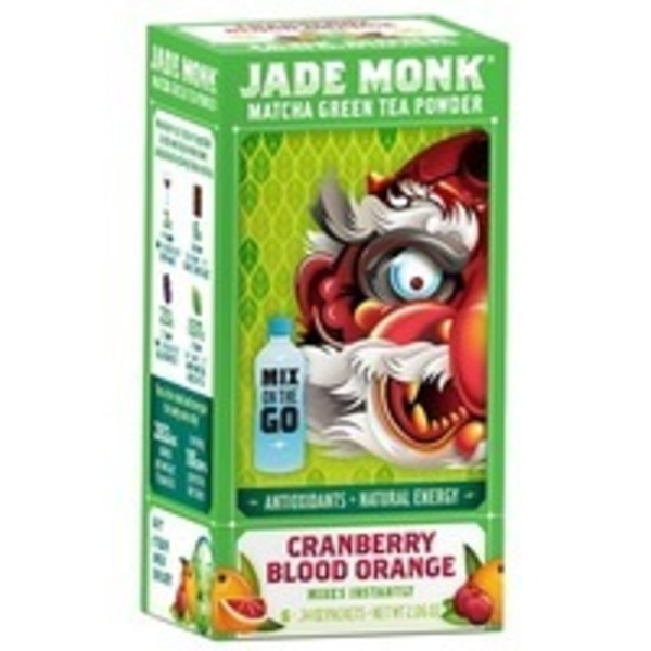 Jade Monk Cranberry Blood Orange Matcha Drink Powder