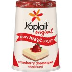 Yoplait Original Strawberry Cheesecake Yogurt, 6 oz, 6.0 OZ