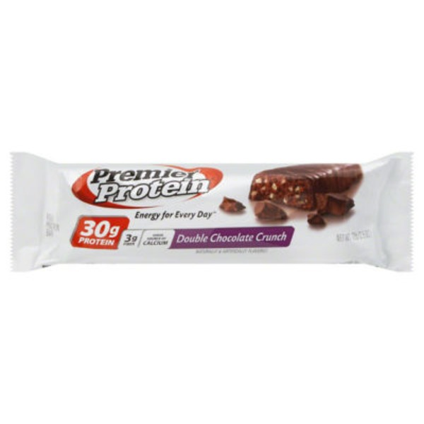 Premier Protein Double Chocolate Crunch High Protein Bar