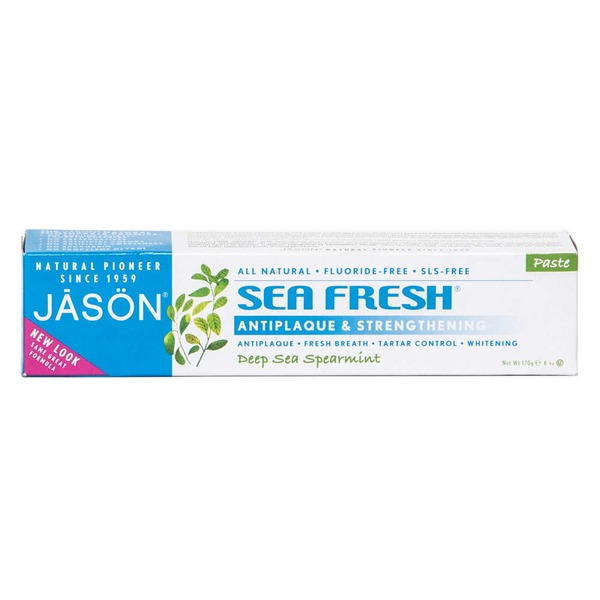 Jason Tooth Paste Sea Fresh Anti-Plaque & Strengthening Deep Sea Spearmint