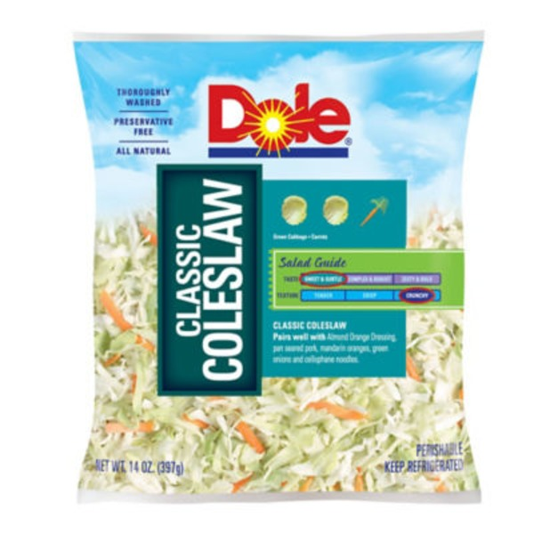 Dole Salad Classic Coleslaw