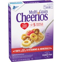 Multi Grain Cheerios Gluten Free Cereal, 18 oz, 18.0 OZ