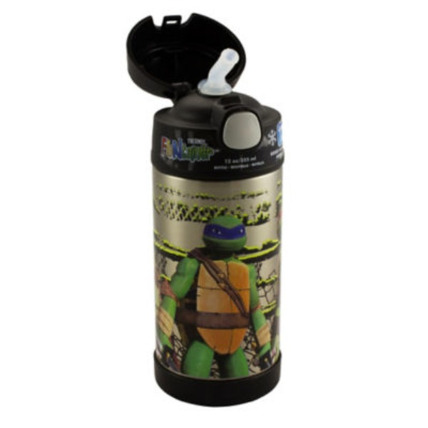 Thermos Teenage Mutant Ninja Turtle Funtainer Bottle 12 Oz
