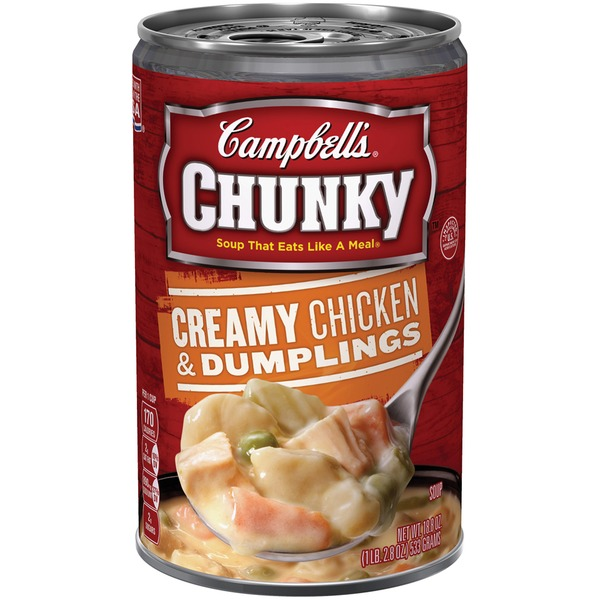 Campbell's Creamy Chicken & Dumplings Soup