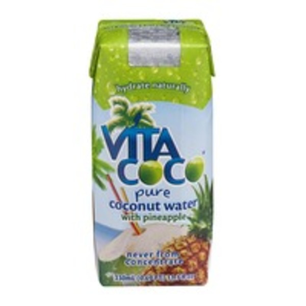 Vita Coco Pure Coconut Water With Pineapple