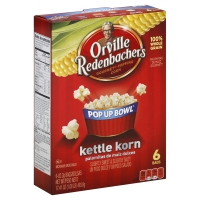 Orville Redenbachers Pop Up Bowl Popping Corn Gourmet Kettle Korn