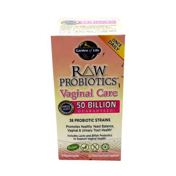 Garden of Life Raw Probiotics Vaginal Care  50 Billion 38 Strains