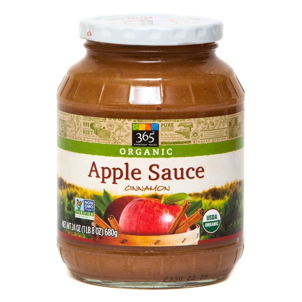 365 Organic Apple Sauce With Cinnamon