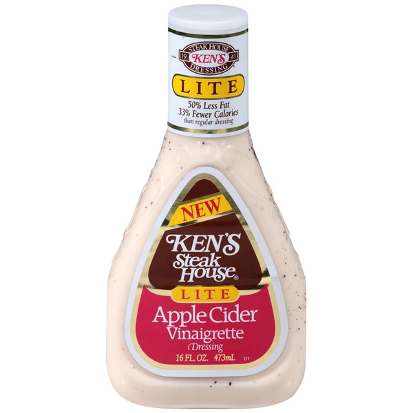 Ken's Steakhouse Lite Apple Cider Vinaigrette Dressing