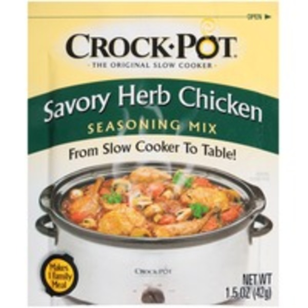 Crock Pot Savory Herb Chicken Seasoning Mix