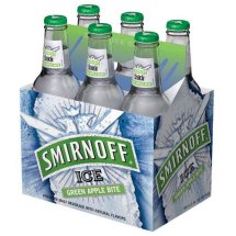Smirnoff Ice Green Apple Cocktail, 6 pack, 12 fl oz