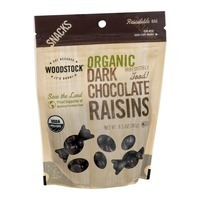 Woodstock Farms Dark Chocolate Covered Raisins