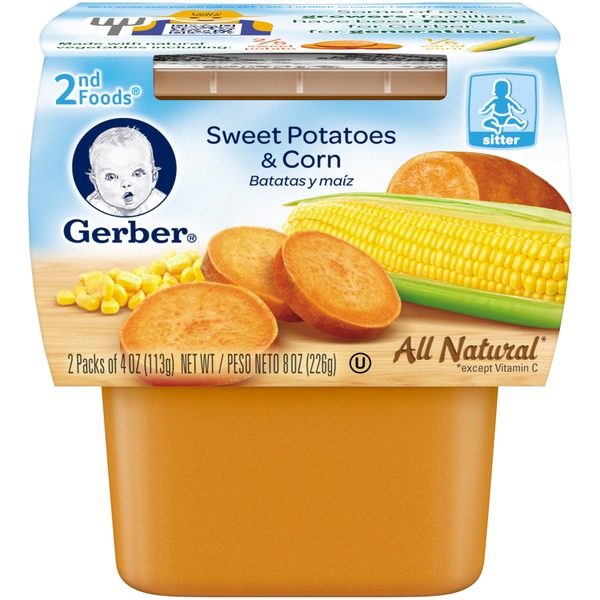 Gerber Sweet Potatoes & Corn 2nd Foods