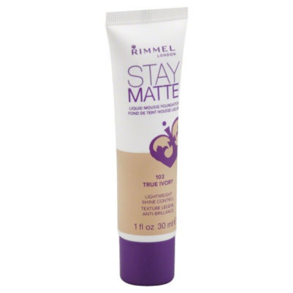 Rimmel Liquid Mousse Foundation - True Ivory 103