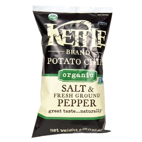 Kettle Brand® Organic Salt & Fresh Ground Pepper Potato Chips