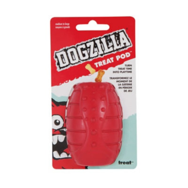 Dogzilla Treat Pod Small Dog Toy