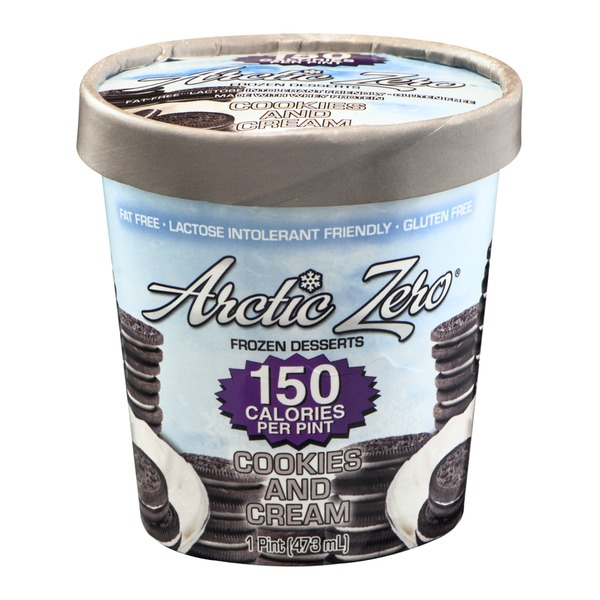 Arctic Zero Frozen Dessert Cookies And Cream