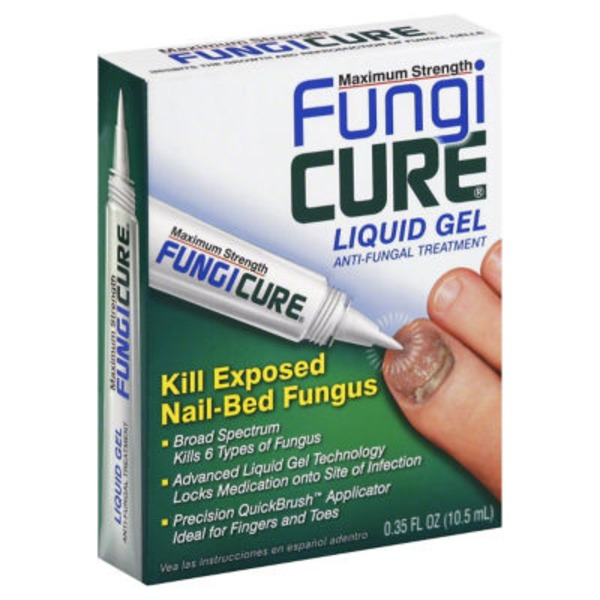 FungiCure Fungi Cure Maximum Strength Liquid Gel Anti-Fungal Treatment