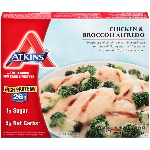 Atkins Chicken & Broccoli Alfredo