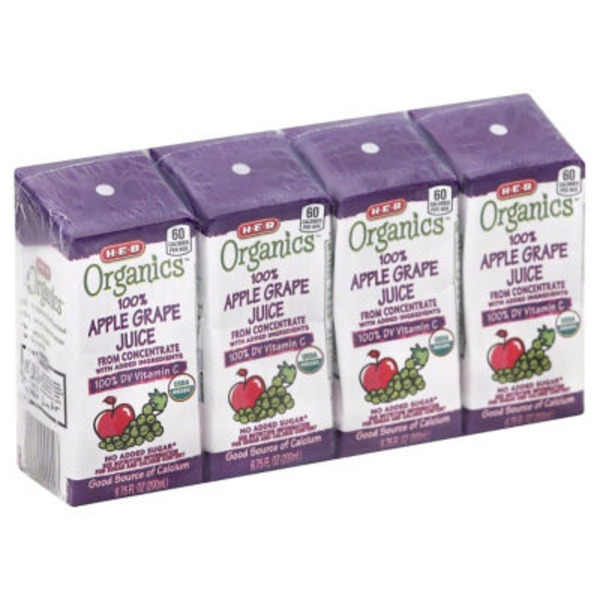 H-E-B Apple Grape Juice