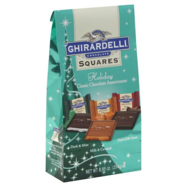 H-E-B Ghirardelli Chocolate Squares Holiday Classic