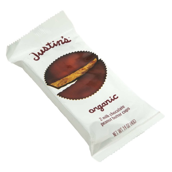 Justin's Organic Milk Chocolate Peanut Butter Cups - 2 CT