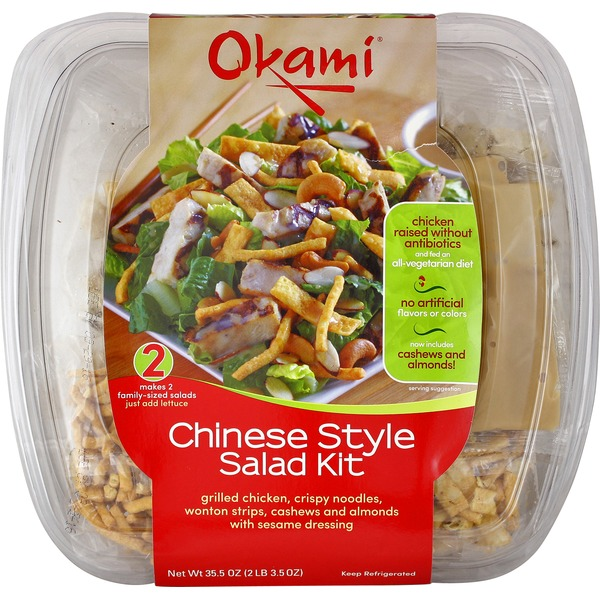 Okami Chinese Style Chicken Salad Kit
