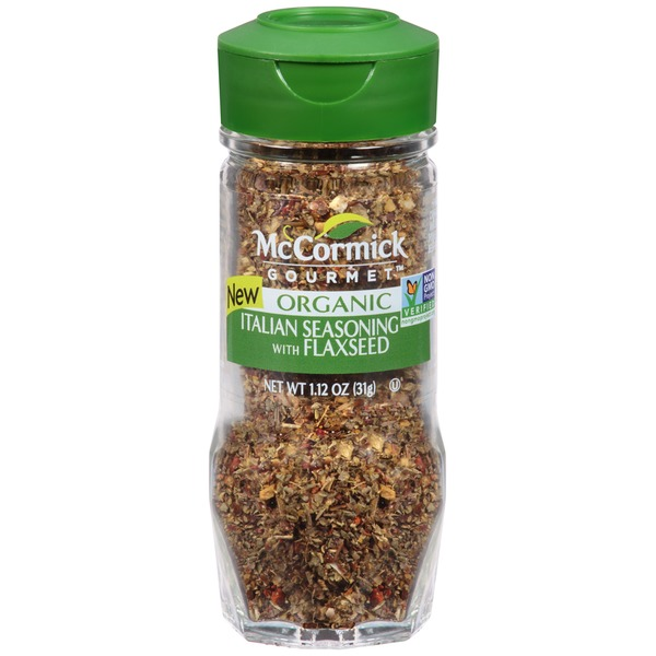 McCormick Gourmet Collection Italian Seasoning with Flaxseed Seasoning