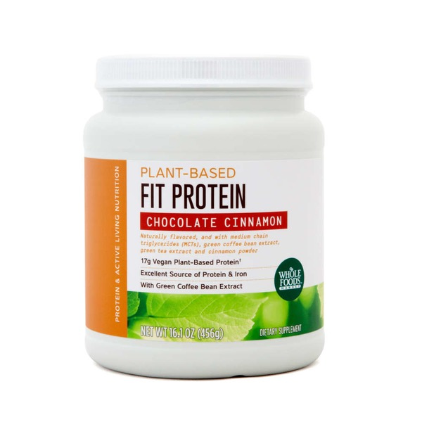 Whole Foods Market Plant- Based Fit Protein Cinnamon Chocolate