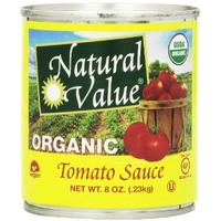 Natural Value Organic Tomato Sauce